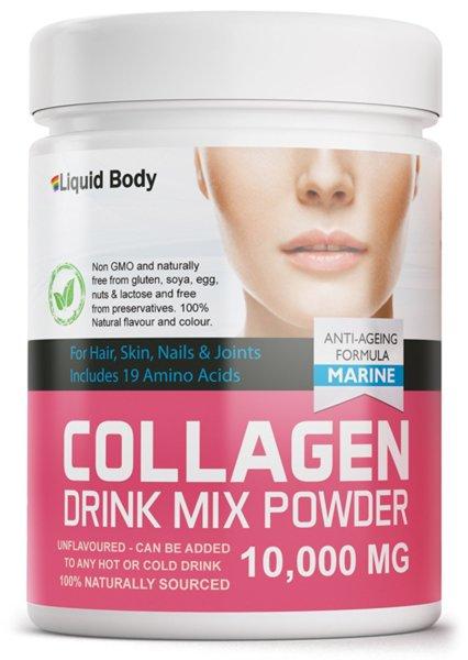 Liquid Body-Рибен Колаген 10000 мг на Прах 300 гр.